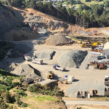 Western Hills Quarry - Whangarei Northland